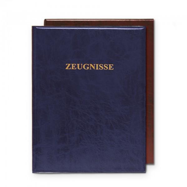 Zeugnisringbuch, A4, Kunststoff, wattiert, ohne Einlagen, Dunkelblau
