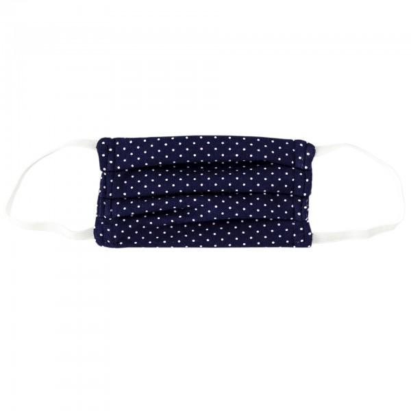 Stoffmaske für Kinder - blau