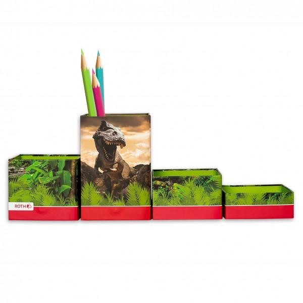 Stifteköcher, Tyrannosaurus, 8x8x2 - 12 cm