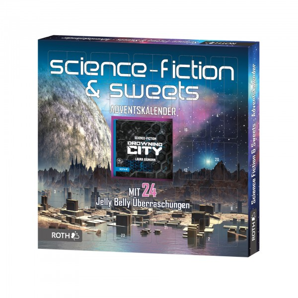 Science Fiction-Adventskalender - Science Fiction-Lesespaß und 24x Sweets