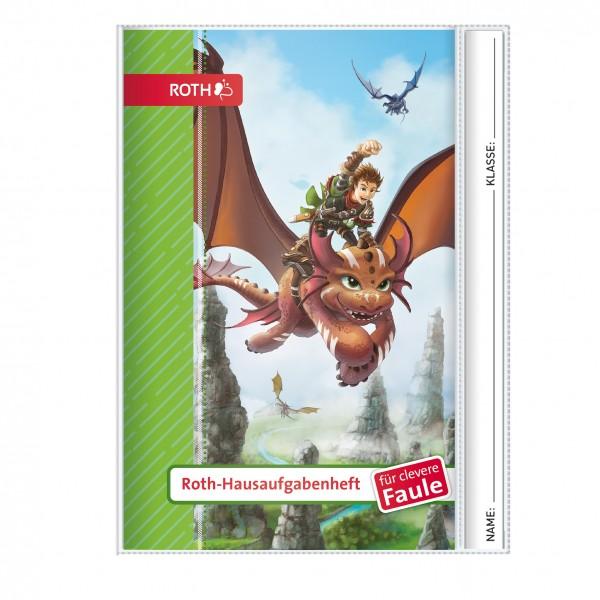 Roth-Hausaufgabenheft Drachenjäger für clevere Faule - A5