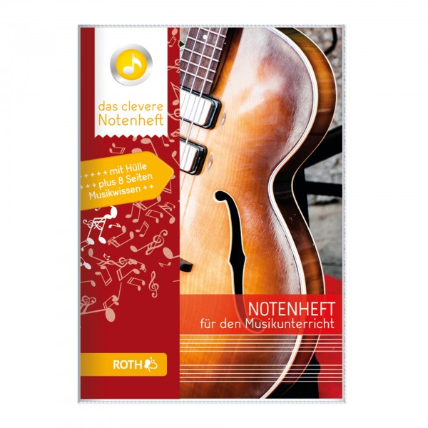 Roth-Notenheft Cello - A5