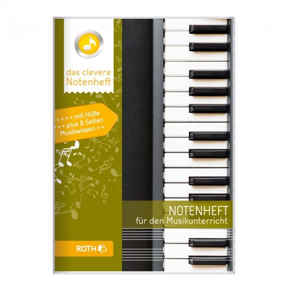 Roth-Notenheft Keyboard - A5