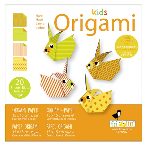 Kids Origami; Hase
