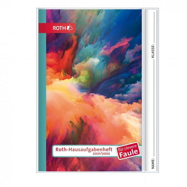 Roth-Hausaufgabenheft Superteens Color Splash für clevere Faule - A5 mit Kalendarium