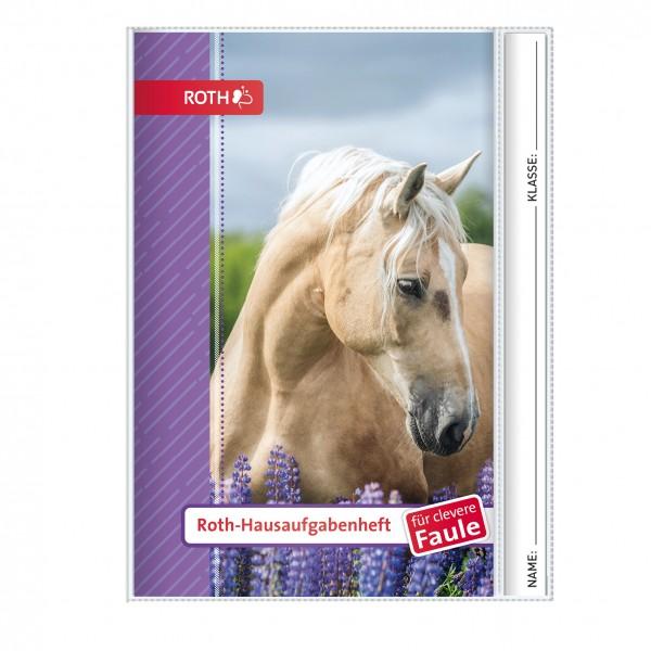 Roth-Hausaufgabenheft Pferd für clevere Faule - A5