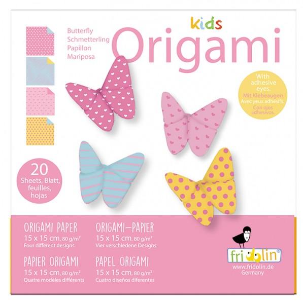 Kids Origami; Schmetterling