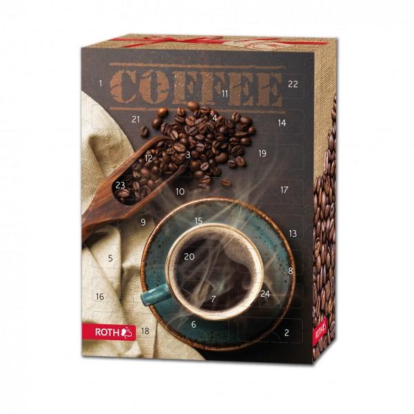 Kaffee-Adventskalender ganze Bohnen