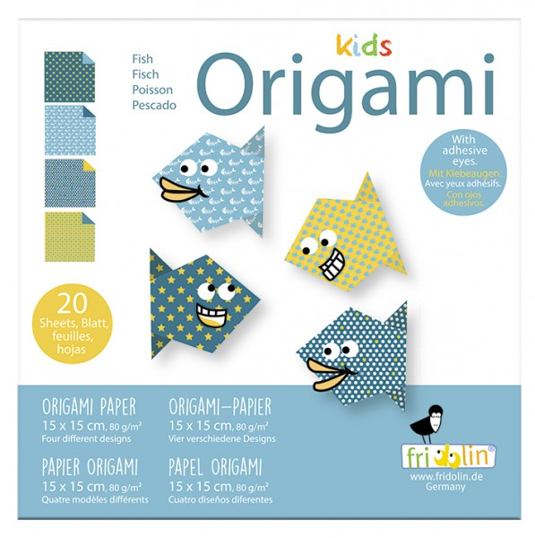 Kids Origami; Fisch