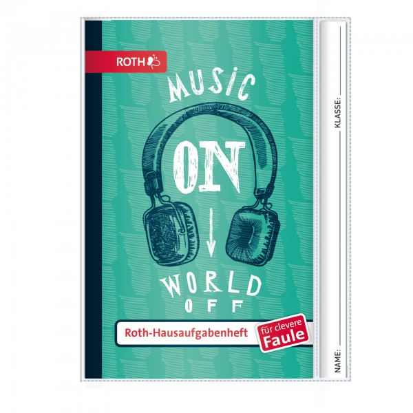 Roth-Hausaufgabenheft Music On für clevere Faule - A5
