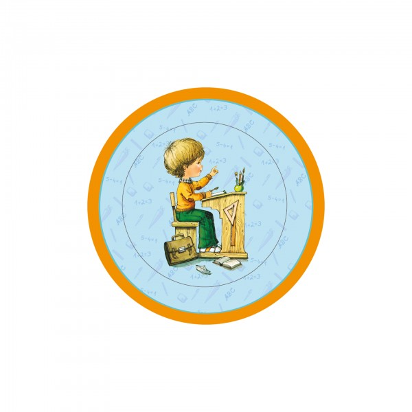 Schulanfangs-Serie Mein Schulstart, Teller blau, Ø 23 cm, 6er Set