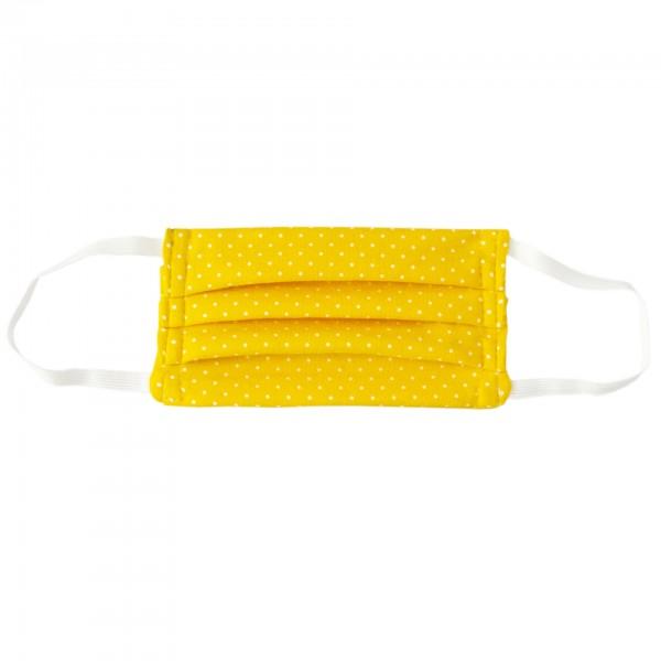 Stoffmaske für Kinder - gelb