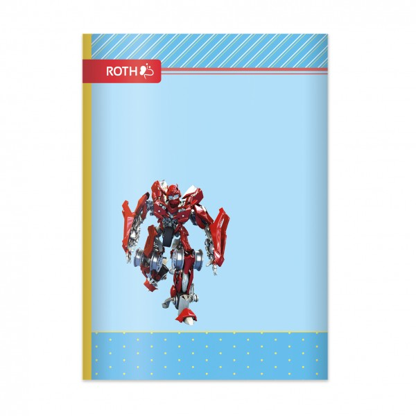 Muttiheft - Oktavheft Dynamic Robot - A6