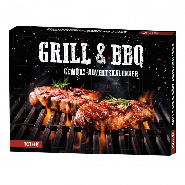 Grill- & BBQ-Gewürz-Adventskalender