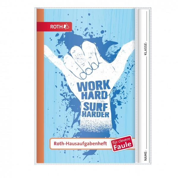 Roth-Hausaufgabenheft Surf Hand für clevere Faule - A5