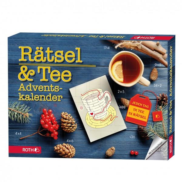 Rätsel & Tee-Adventskalender - 24x Tee mit einem kleinen Rätsel