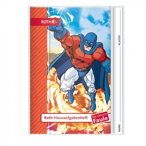 Roth-Hausaufgabenheft Superheld für clevere Faule - A5
