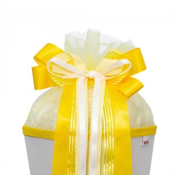 "Schleife ""Hello Yellow"", ca. 50x23 cm, 100% Polyester"
