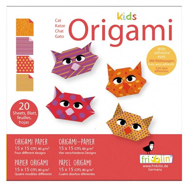 Kids Origami; Cat