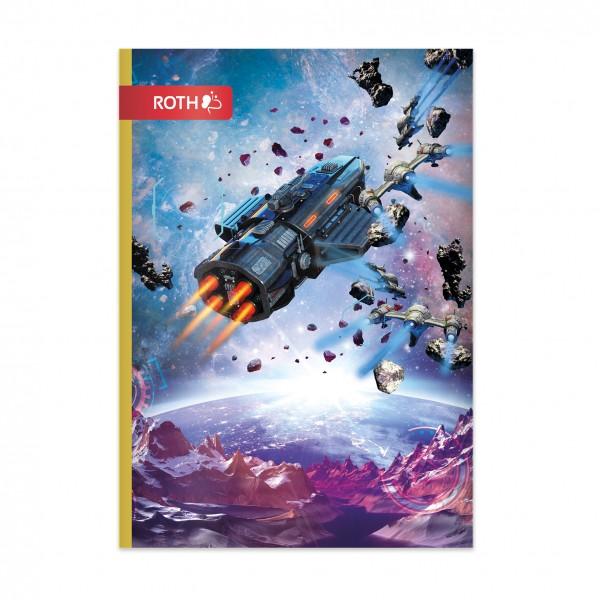 Muttiheft - Oktavheft Space Fighter - A6