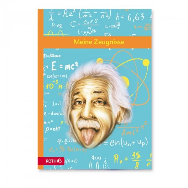 Zeugnismappe Einstein A4, 10 Einlagen