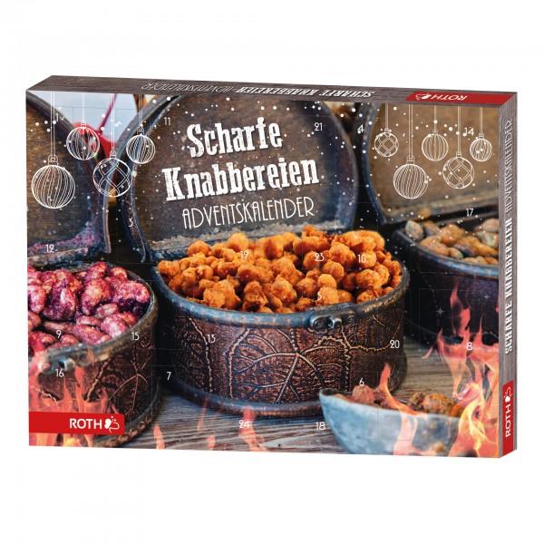 Scharfe Knabbereien-Adventskalender - 24 x würziger Knabberspaß im Advent