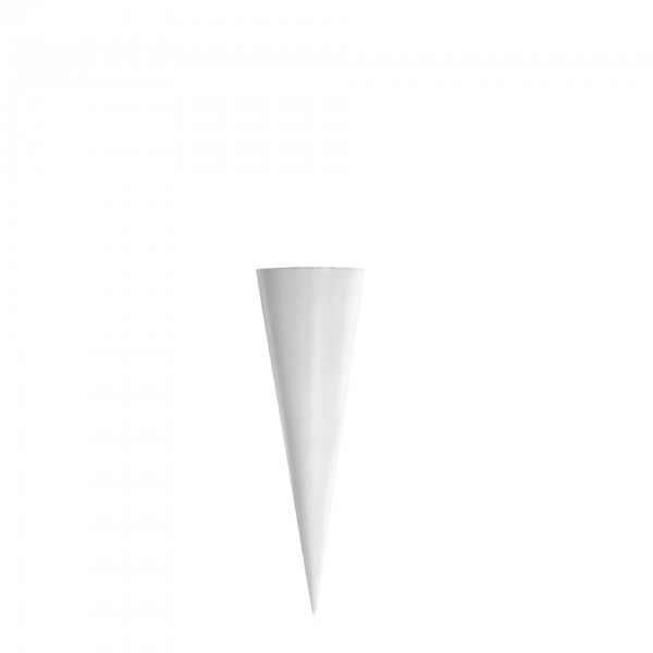 Rohling grau, ohne Verschluss, 50 cm, rund