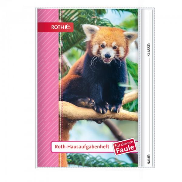 Roth-Hausaufgabenheft Kleiner Panda für clevere Faule - A5