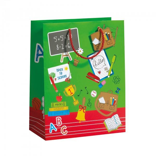 """Geschenktasche """"Hello School"""" groß, 33,5x26x13,5 cm"""