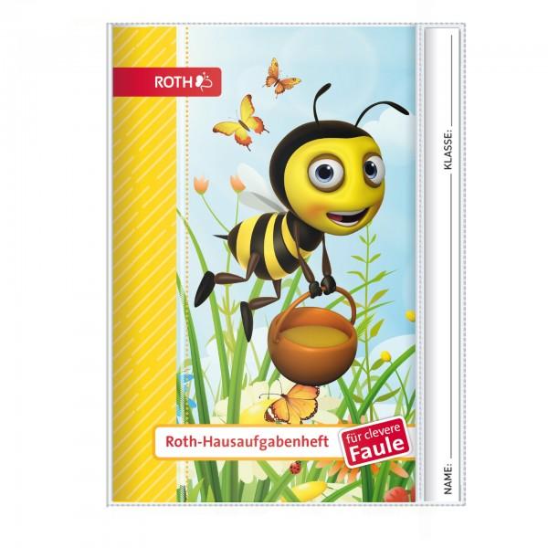 Roth-Hausaufgabenheft Honigwiese für clevere Faule - A5