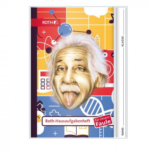 Roth-Hausaufgabenheft Einstein für clevere Faule - A5