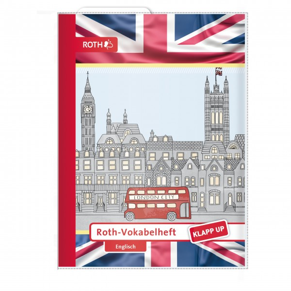 Roth-Vokabelheft Klapp-up English 1 - A5