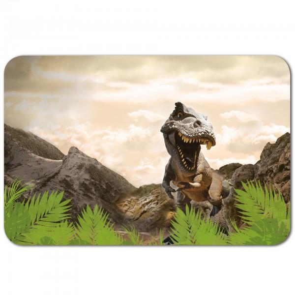 Schreibtischunterlage Tyrannosaurus, 59x39 cm, mit Anti-Rutsch-Beschichtung