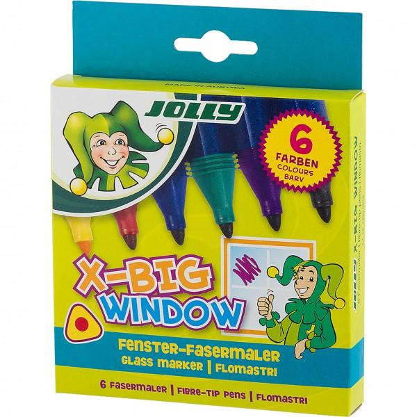 Jolly X-Big Window Fenstermaler