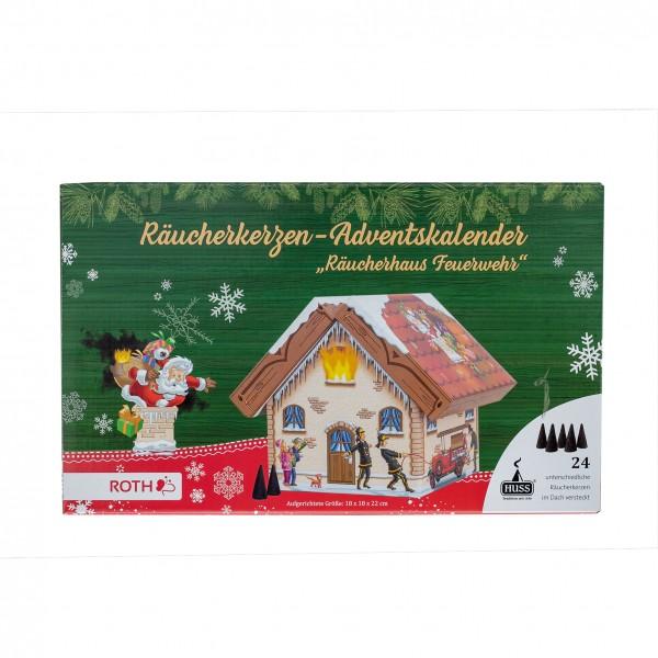 """Räucherhaus-Adventskalender """"Feuerwehr"""""""