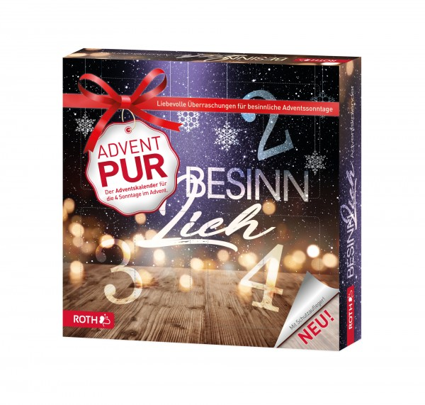 "Adventskalender PUR ""BeSINNlich"" - 4x BeSINNen im Advent"