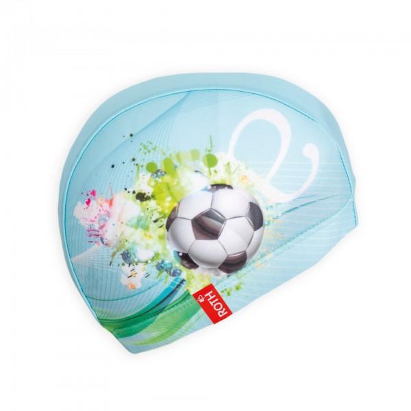 Kinder-Badekappe Fußballstar, 21x19 cm