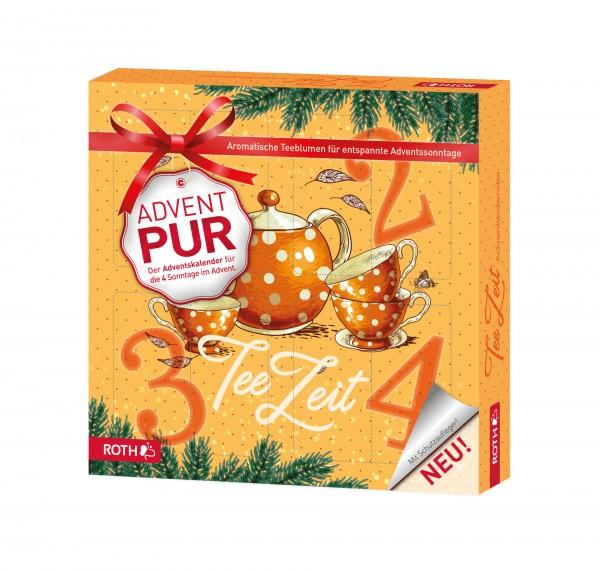 """Adventskalender PUR """"Teezeit"""" - 4x Teegenuss für die Adventssonntage"""