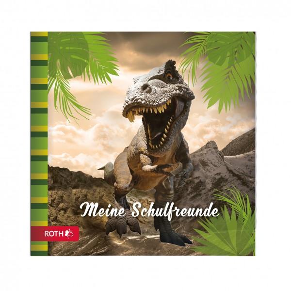 Schulanfangs-Serie Tyrannosaurus, Freundebuch, 16,5x16,5 cm, 64 Seiten