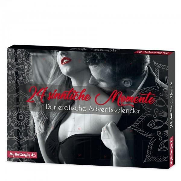 """Erotik-Adventskalender """"24 sinnliche Momente"""" mit 24 Überraschungen für Paare"""