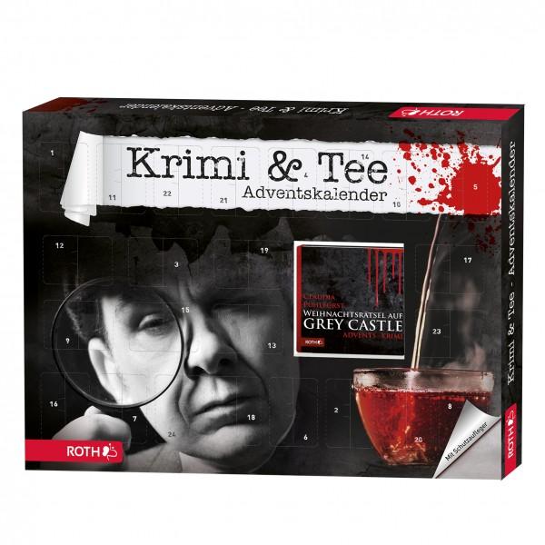 Krimi & Tee-Adventskalender - 24x Tee und Krimigenuss in 24 Kapiteln