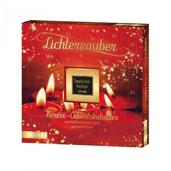 """Kerzen-Adventskalender """"Lichterzauber"""" - 24x Kerzenschein im Advent"""