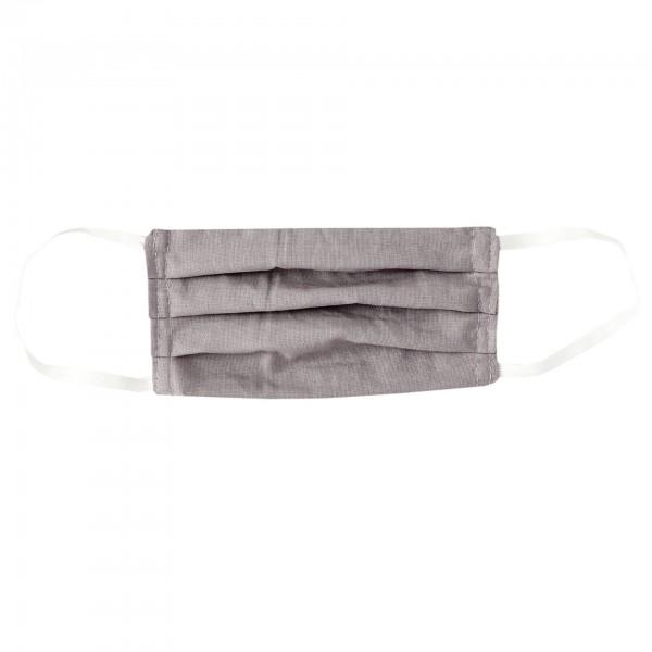 Stoffmaske für Erwachsene - grau
