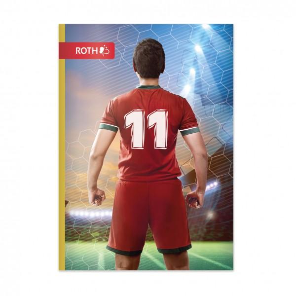 Muttiheft - Oktavheft Soccer- A6