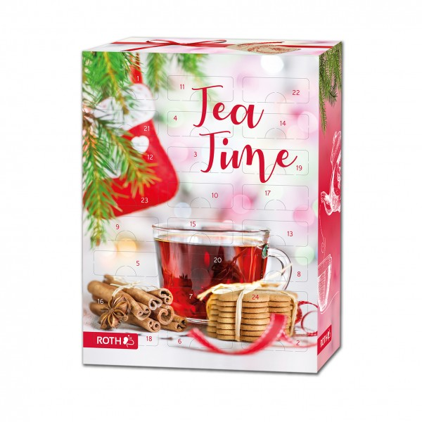 Tee-Adventskalender Bio Tee